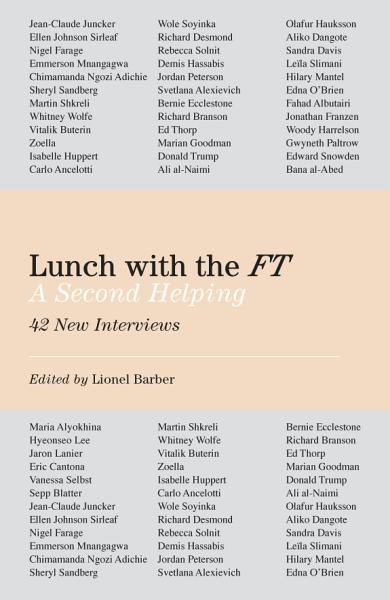Download Lunch with the FT Book