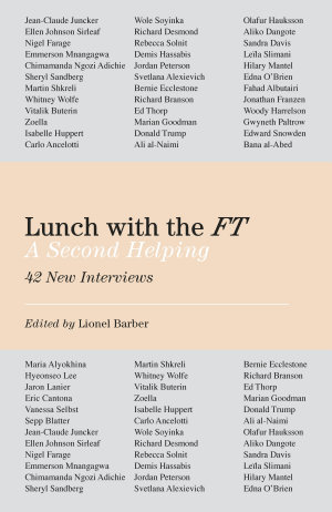 Lunch with the FT