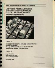 Las Vegas Federal Building  United States Courthouse Building  City of Las Vegas PDF