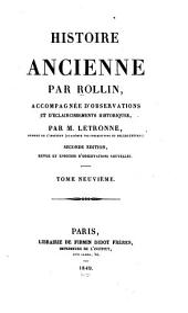 Histoire ancienne: Volume9