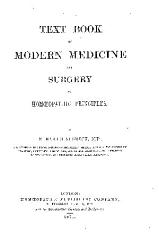 Text Book of Modern Medicine and Surgery on Homoeopathic Principles PDF