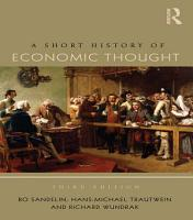 A Short History of Economic Thought PDF