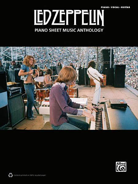 Download Led Zeppelin   Piano Sheet Music Anthology Book