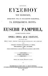 Patrologiae cursus completus. Series graeca: Volume 20, Issue 2