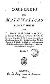 Compendio de Matemáticas puras y mixtas