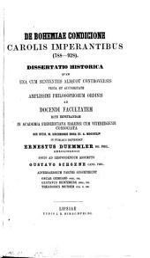 De Bohemiae condicione Carolis imperantibus: 788 - 928