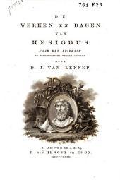 De werken en dagen van Hesiodus