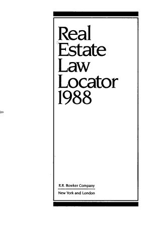Real Estate Law Locator PDF