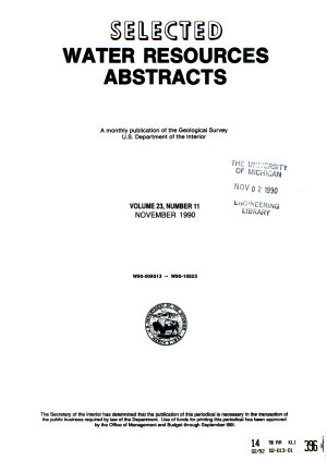 Selected Water Resources Abstracts PDF