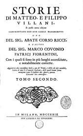 Storie di Giovanni, Matteo e Filippo Villani: Volume 2