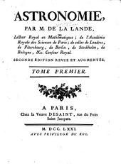 Astronomie: Volume 1