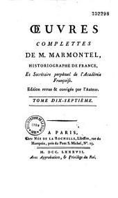 Oeuvres completes de M. Marmontel,...