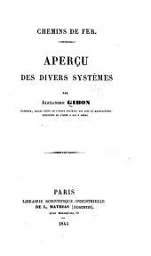 Chemins de fer: Aperçu des divers systèmes