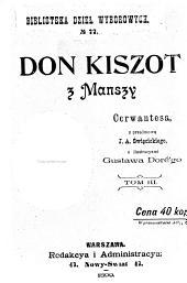 Don Kiszot z Manszy: Tom 3