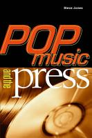 Pop Music and the Press PDF