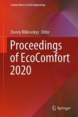 Proceedings of EcoComfort 2020 PDF