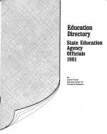 Education Directory. State Education Agency Officials