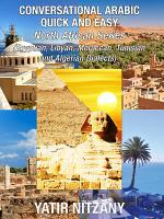 Conversational Arabic Quick and Easy  North African Series  PDF