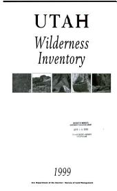 Utah wilderness inventory