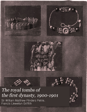 The Royal Tombs of the First Dynasty, 1900-1901: Issue 21, Part 2