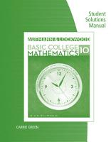 Student Solutions Manual for Aufmann Lockwood s Basic College Math  An Applied Approach  10th PDF