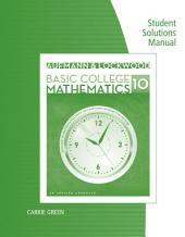 Student Solutions Manual for Aufmann/Lockwood's Basic College Math: An Applied Approach, 10th: Edition 10