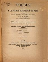 Recherches algébriques sur les inteǵrales abéliennes