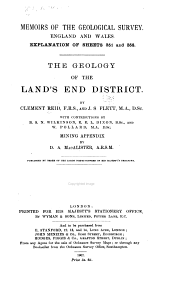 The Geology of the Land's End District