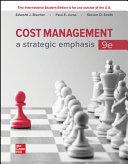ISE Cost Management  a Strategic Emphasis PDF