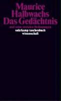 Das Ged  chtnis und seine sozialen Bedingungen PDF