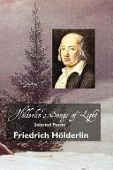 Hölderlin's Songs of Light