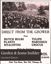 Garden and Home Builder: Volume 16
