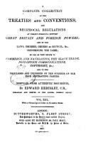 Hertslet s Commercial Treaties PDF