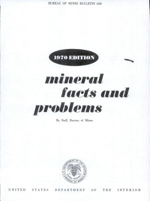 Mineral Facts and Problems PDF