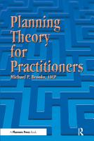 Planning Theory for Practitioners PDF