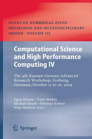Computational Science and High Performance Computing IV PDF