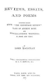 Reviews, Essays, and Poems