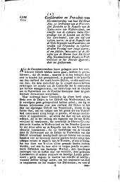 Consideratien en præ-advis van Gecommitteerdens [...] tot herstellinge van de Westvriesche zeedyken