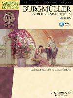 Burgmuller - 25 Progressive Studies, Opus 100 (Songbook)