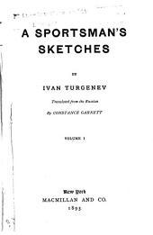 Novels: A sportman's sketches