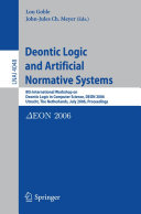 Deontic Logic and Artificial Normative Systems