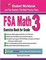 FSA Math Exercise Book for Grade 3