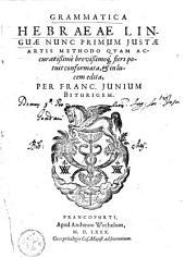 Grammatica Hebraeae linguae :