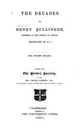 The Decades of Henry Bullinger: Volume 4