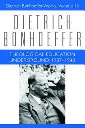 Theological Education Underground, 1937-1940