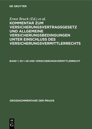1 48 und Versicherungsvermittlerrecht PDF