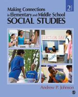 Making Connections in Elementary and Middle School Social Studies PDF