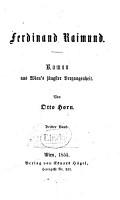 Ferdinand Raimund PDF