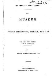 The Museum of Foreign Literature, Science, and Art: Volume 42