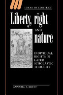 Liberty  Right and Nature PDF